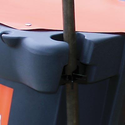 Держатель метлы тележки Mobilo