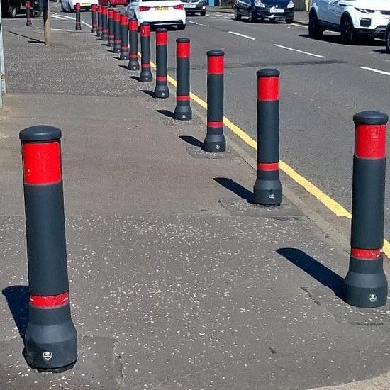 Ограждающие парковочные столбики NEIPOLITAN