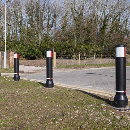 Уличный разделительный дорожный столбик GLASDON