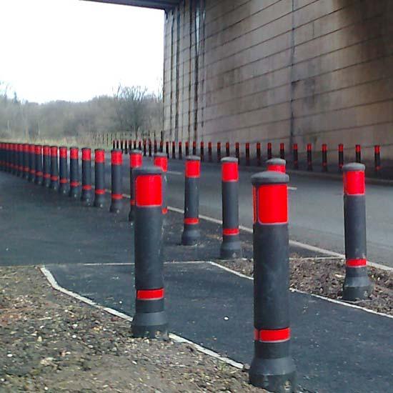 Уличные дорожные столбики из европы NEO GLASDON