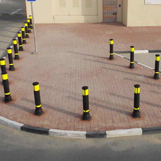 Уличные столбики ограждающие NEOPOLITAN ADV