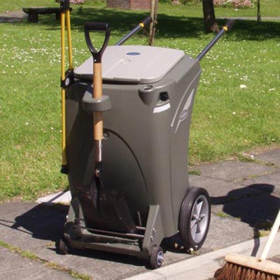 Тележка для уборки мусора Skiper