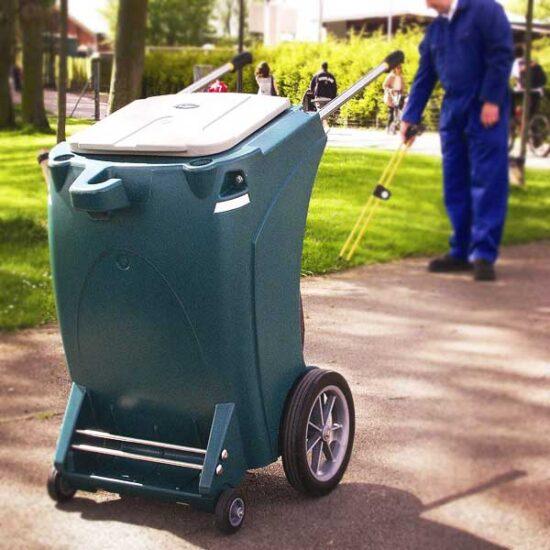 Уличная тележка для перевозки мусора Skiper