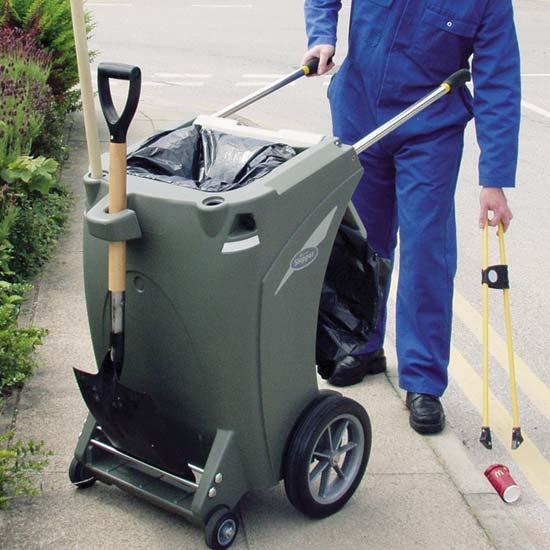 Тележка для уборки уличного мусора Skiper