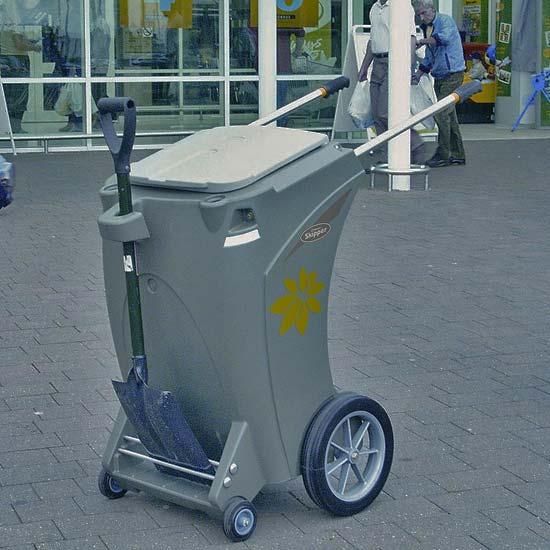 Тележка для вывоза мусора Skiper