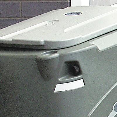 Закрытый внутренний бак тележки для дворника Skiper