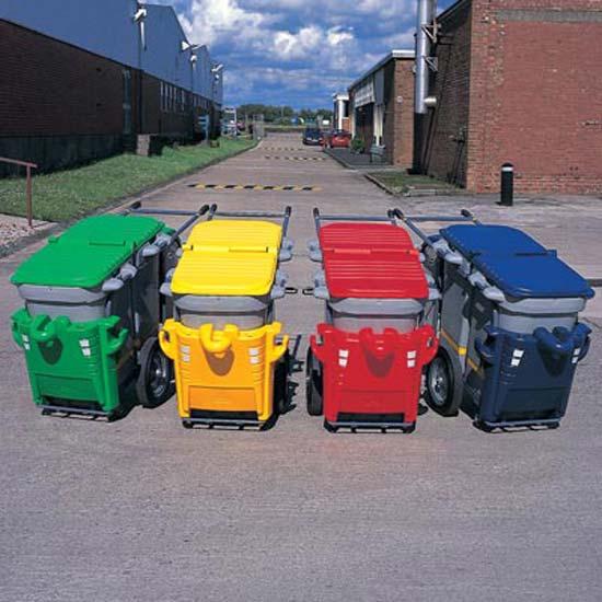 Надежные мусорные тележки для дворников GLASDON Spaceliner DUO