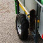 Надувные колеса тележки дворника GLASDON