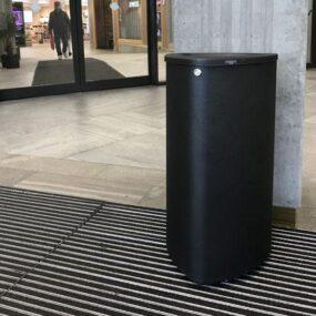Внутренняя урна черный металлик Bermuda 80 MM