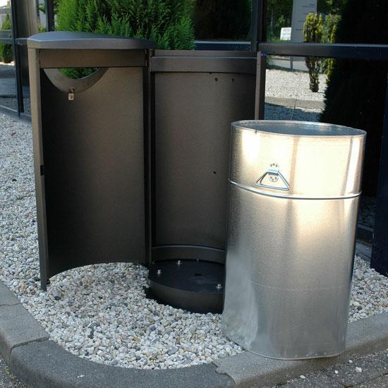 Внутреннее устройство мусорной урны ФинБин