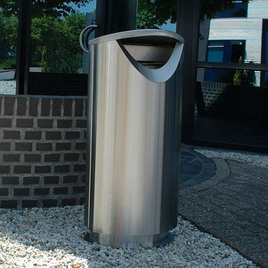 Нержавеющий мусорный бак для улицы ФинБин