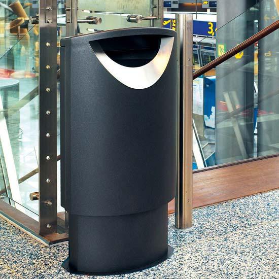 Дизайнерская мусорная урна Фин Бин Эллипс