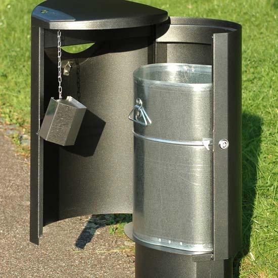 Дизайнерская мусорная урна Эллипс 60 финбин