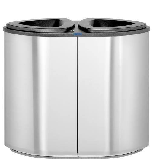 урна для 2 видов мусора Финбин Бермуда